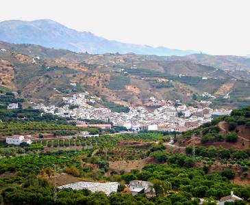 Benamargosa Andalusien